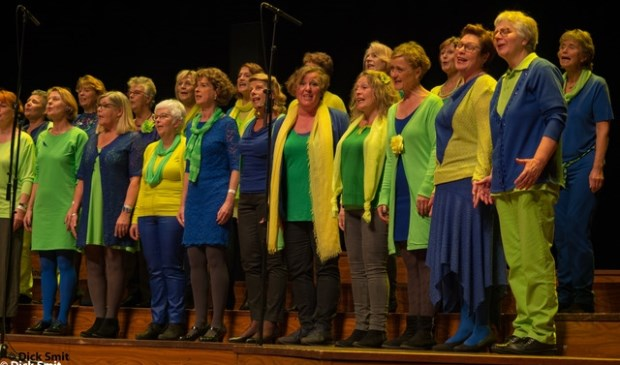 • Vocal Group Jade in actie tijdens Isala Encore.