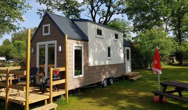 • Een tiny house van Inropa Greenbuild.
