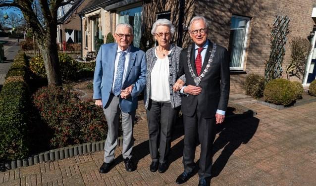 60 Jarig huwelijk echtpaar Den-Hertog-Brouwer