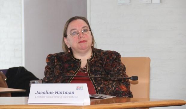 • Jacoline Hartman, wethouder in West Betuwe.