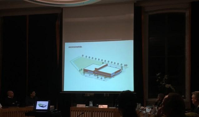 • Donderdagavond werden de eerste plannen gepresenteerd voor het nieuwe zwembad en de nieuwe sporthal in Zaltbommel.