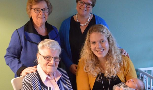 • De vijf generaties in Meerkerk.