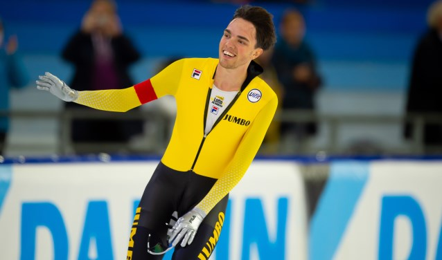 • Patrick Roest tijdens een eerdere wedstrijd. (archieffoto: Stephan Tellier)