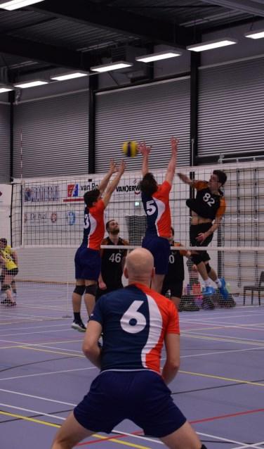 • WHV boekte een overtuigende zege op Volley Zuid.