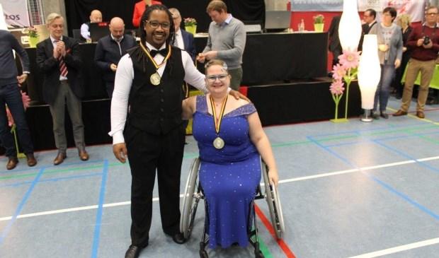 • Nancy Miguel-van Duin en Dexter Miguel uit Nieuw-Lekkerland.