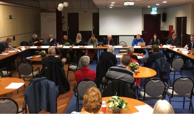 De Burenraad bij een eerdere bijeenkomst.