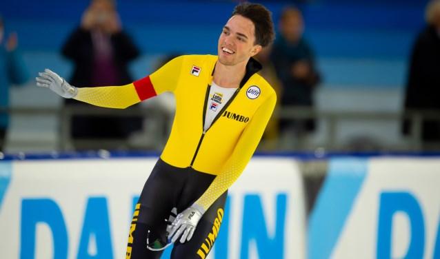 • Patrick Roest tijdens een eerdere wedstrijd (archieffoto: Stephan Tellier)