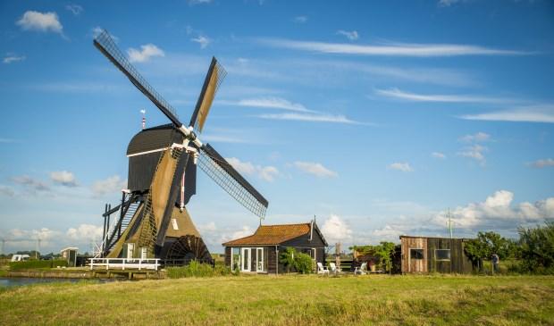 • De Tiendwegse molen in Hardinxveld-Giessendam