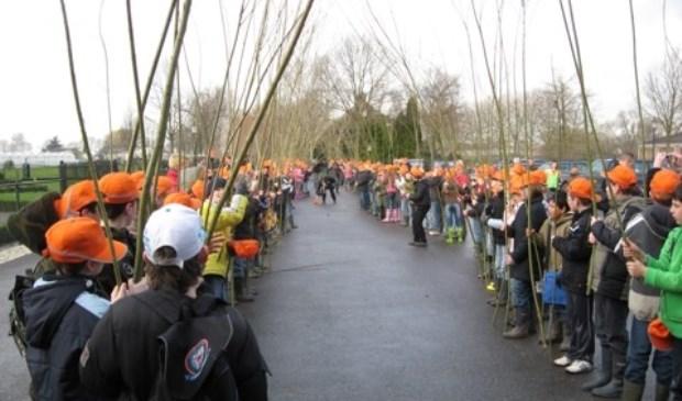 • Boomplantdag 2008 op het Drielse Bosch. Daarna kwam het plan stil te liggen.