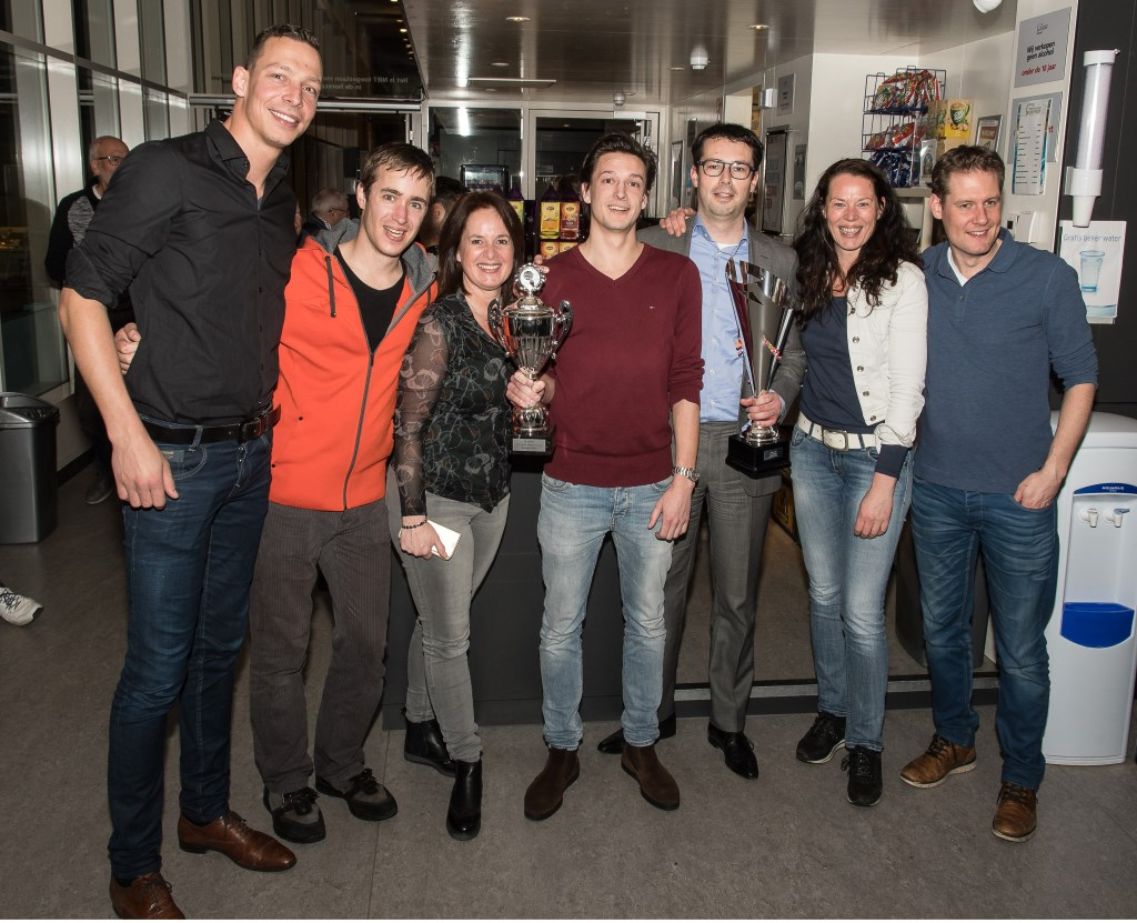 • Het winnende team Slagkracht 5500 van IQIP.