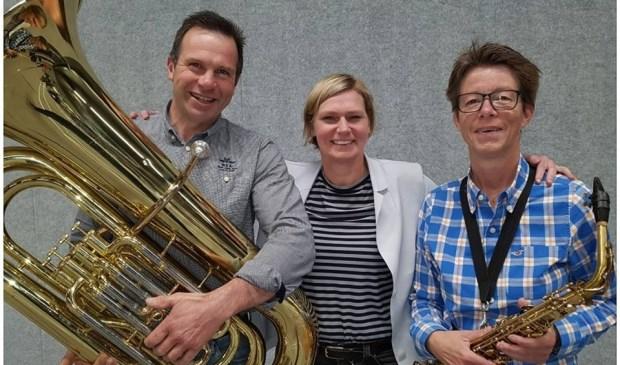 • Ad Boom, Marleen Bakker en Jetty Versluis (v.l.n.r.).