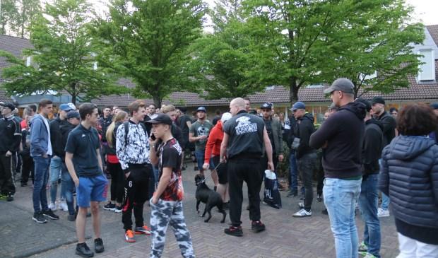 • De demonstratie bij het gemeentehuis van West Betuwe verliep rustig.