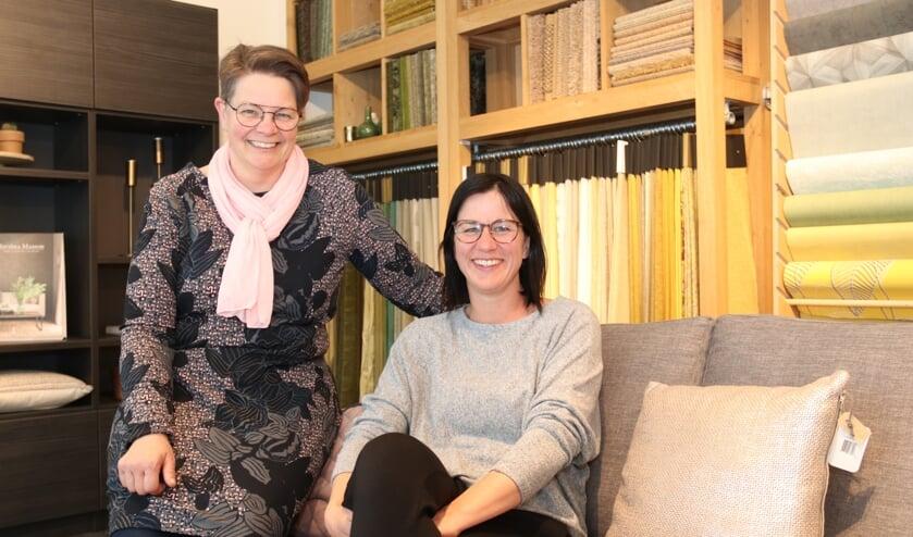 • Christel Lodder en Annelies de With-Van Zanten: een hecht duo.