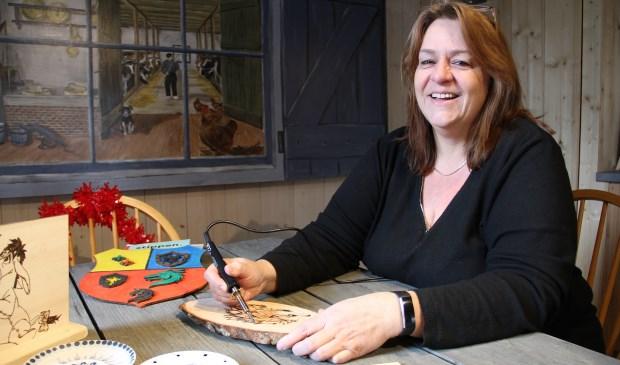 • Anja Maasland van de Brandmerkerij.