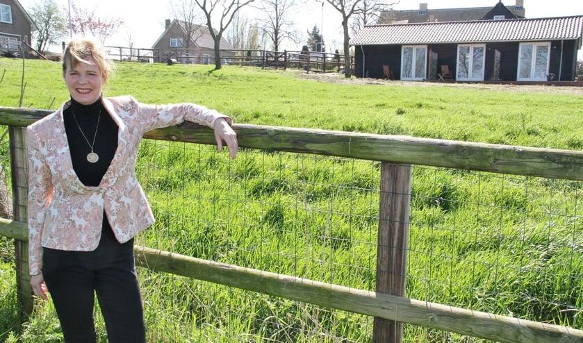 • De B&B van Suzan ligt midden in de polder.