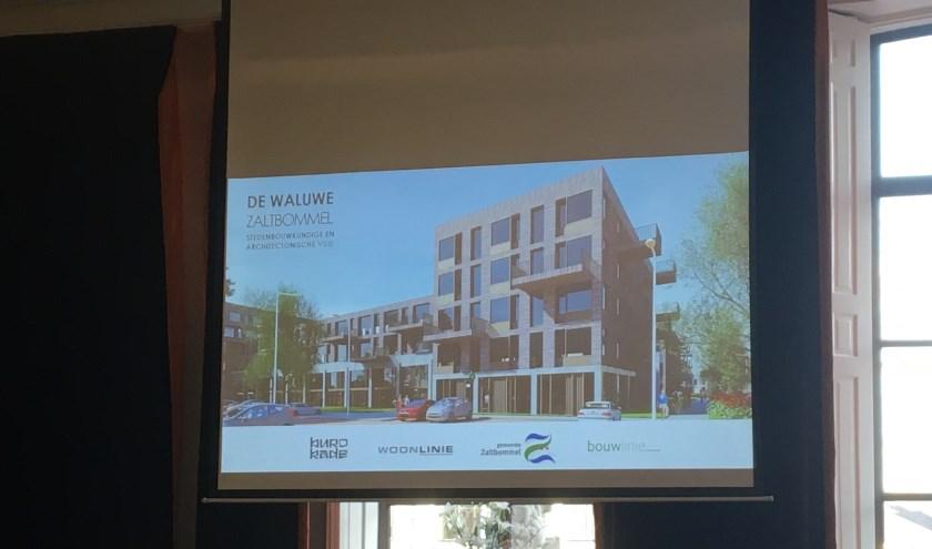 • Aan de kant van het Fiep Westendorpplein komt JBZ en een gezondheidcentrum. Daarboven en achter staan de woningen gepland.