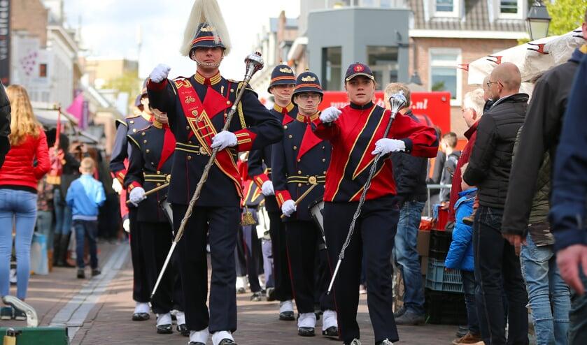 • Koningsdag in Leerdam in 2017.