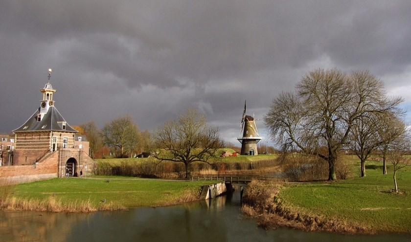 • Molen de Hoop in Gorinchem.