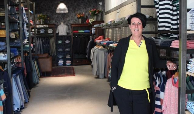 • Yvonne Bos: trots op de nieuwe winkel.