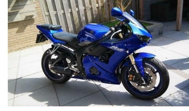 • De gestolen Yamaha met het kenteken MS-BX-40.