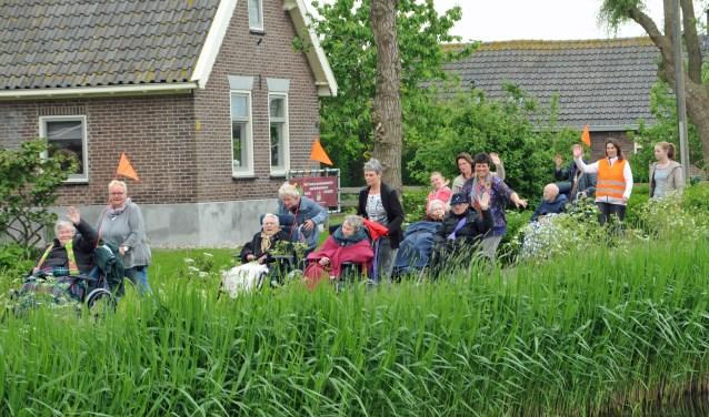 • De eerste rolstoelvierdaagse van  woonzorgcentrum Wilgenhoven.
