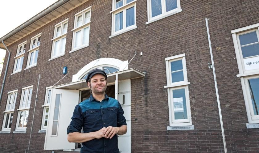 • Jeroen Stijlaart voor 'Maison Publiek', het pand aan de Steenweg in Zaltbommel.
