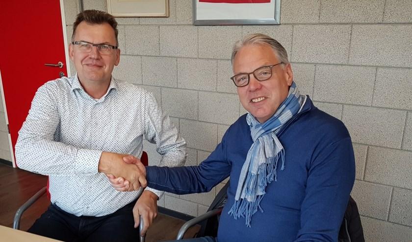 • Hans van den Bighelaar (l) volgt Bert Wernke op.