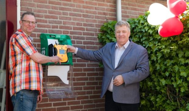 • Adrie Bragt (rechts) was aanwezig bij de ingebruikname.