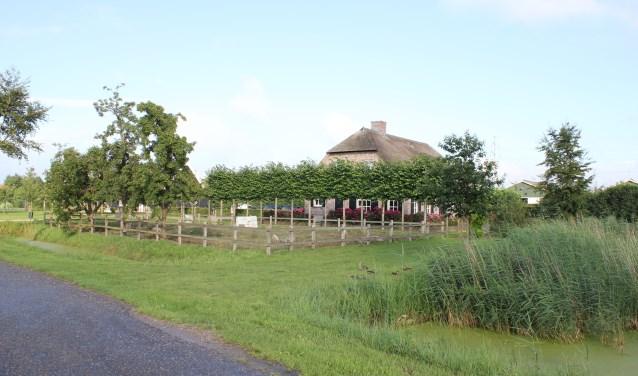 • De geitenboerderij van Alexander van der Schans is vanaf de weg niet te zien.