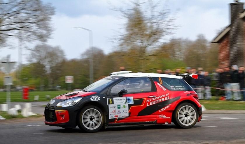 Roald Leemans start dit weekend in de ELE Rally.