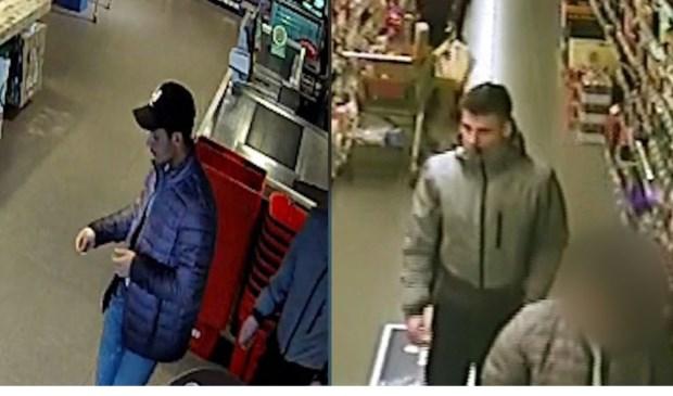 • De twee zakkenrollers werden vastgelegd op beveiligingscamera's.