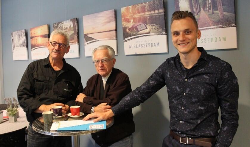 • Ruud van Engelen, Jaap Seelbach, Leroy Benschop (v.l.n.r.).