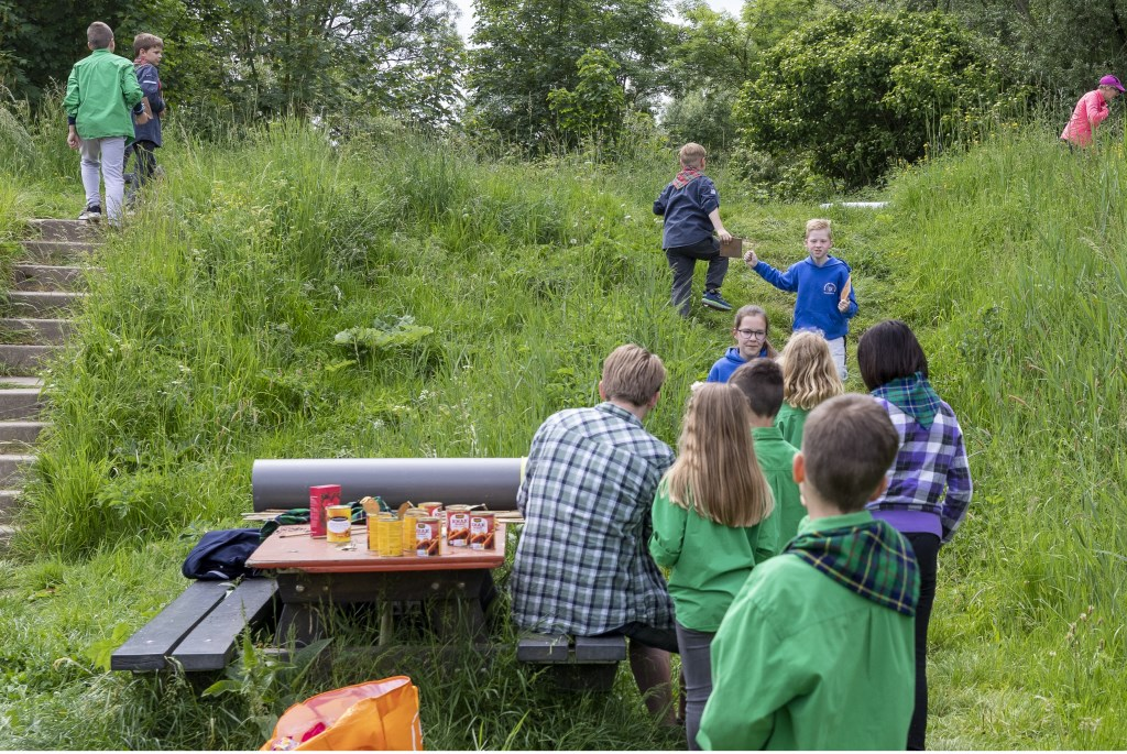 • De drie scoutinggroepen hielden zaterdag een Altenadag.