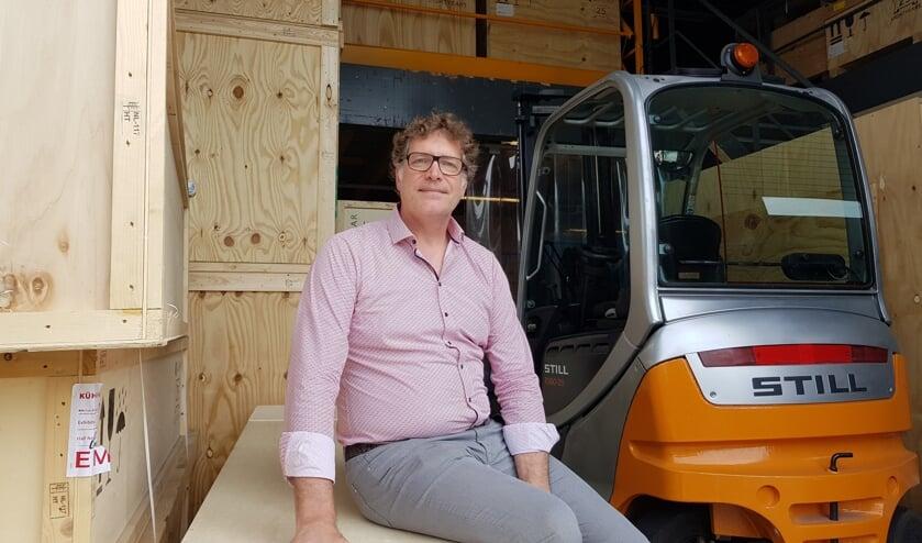 Arjens van Gammeren wil met de uitbreiding meer opslagruimte creeeren.
