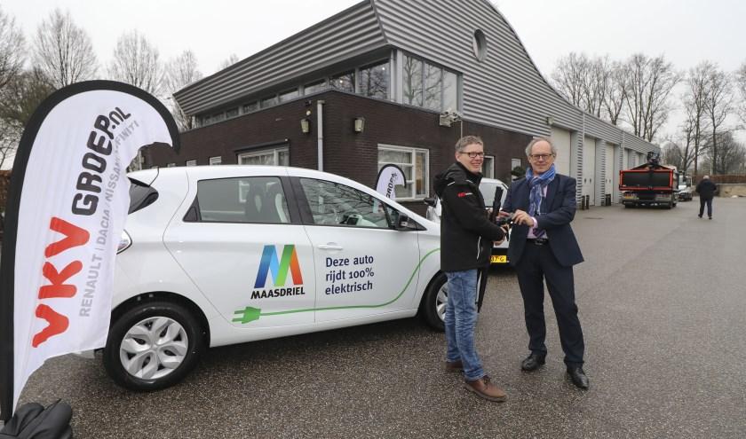 • Maasdriel heeft al elektrische auto's in gebruik.