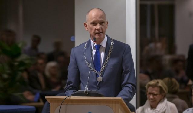 Burgemeester Marcel Fränzel.