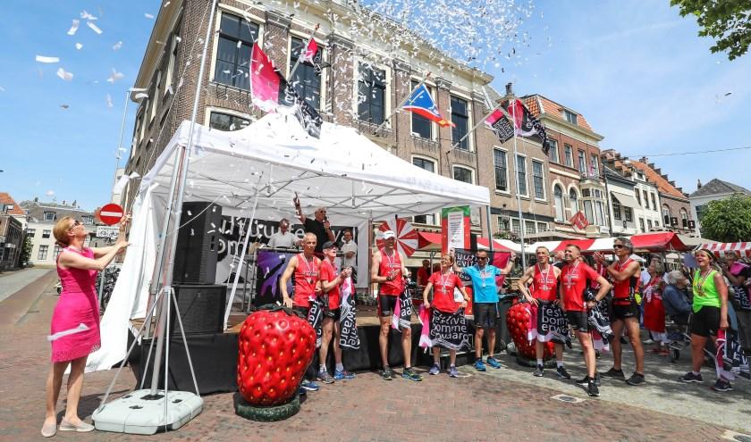 De opening van het Cultuurfestival Bommelerwaard.