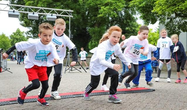 Dwars door Velddriel Kidsrun Foto: Lya Cattel © Bommelerwaard