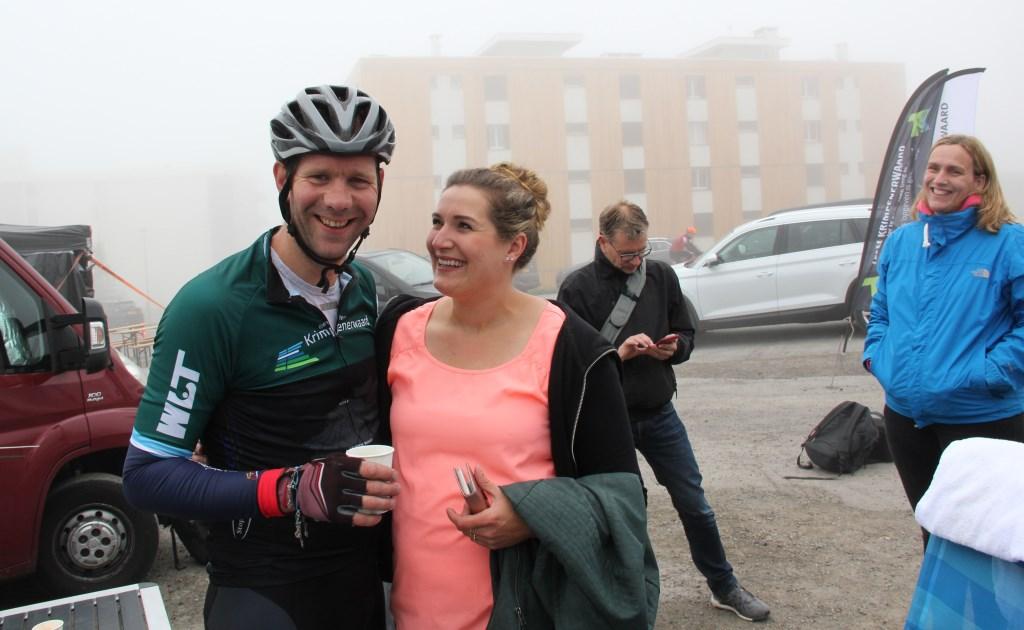 Johan de Langen met vriendin Claudia. Foto: Robert van der Hek © Krimpenerwaard