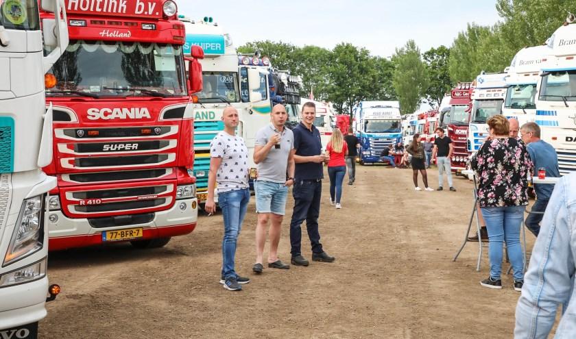 De truckshow in Nederhemert.