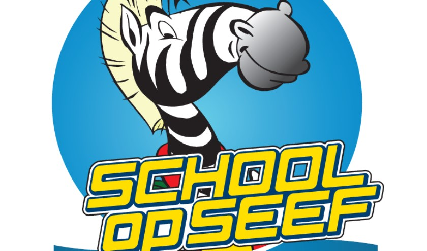 • Het logo van School op Seef.