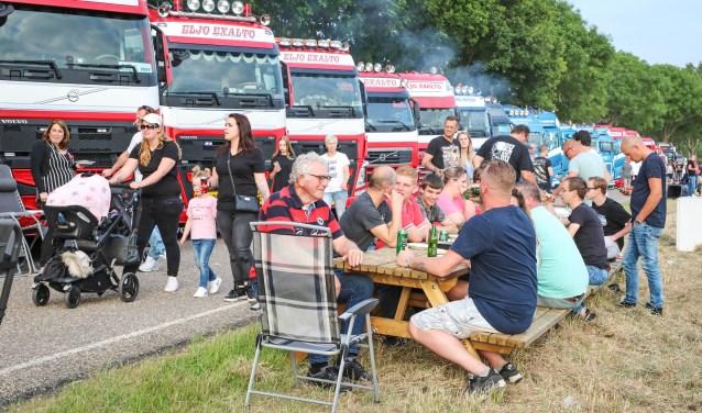 De truckshow in Nederhemert. Foto: Lya Cattel © Bommelerwaard