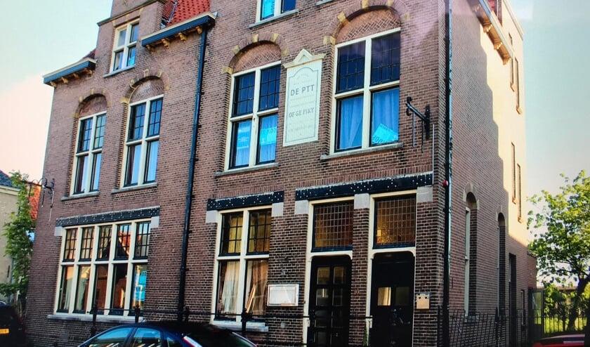 Het hotel aan de Molenstraat in Woudrichem.