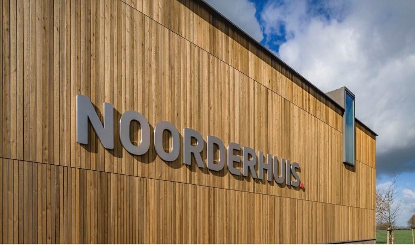• De gevel van het Noorderhuis in Noordeloos.