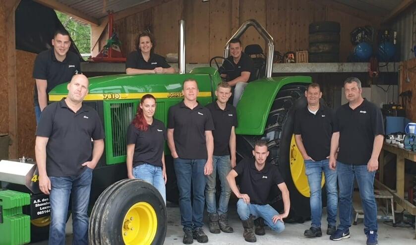 • De organisatoren van Tractorpulling Lexmond.