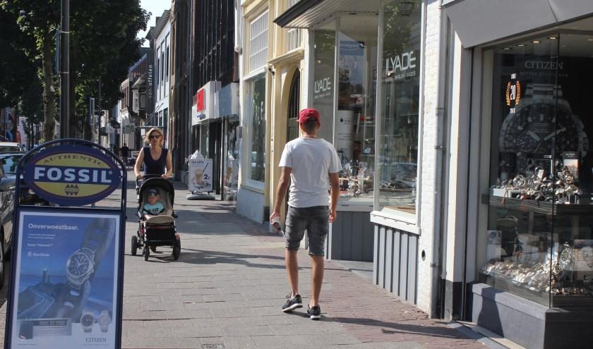 • De Boschstraat is één van de winkelstraten in Zaltbommel.