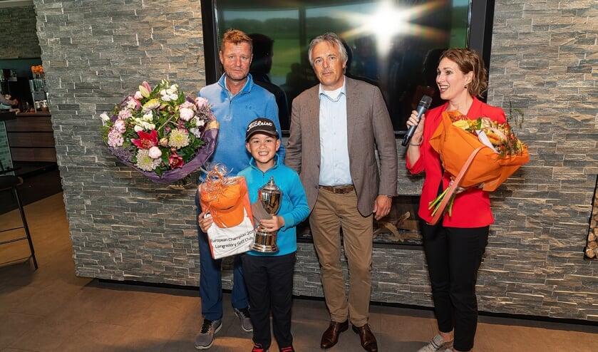 • Youp Orsel werd gehuldigd voor zijn sportieve succes.