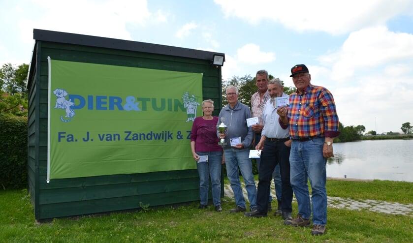 • De winnaars van de Zederik Bokaal.