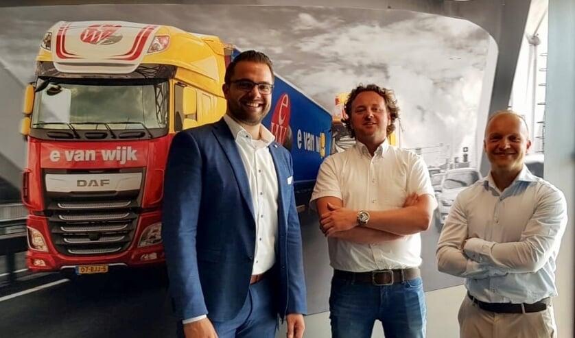Ewout van Wijk en Arno Brokelman en Martin Noeverman.