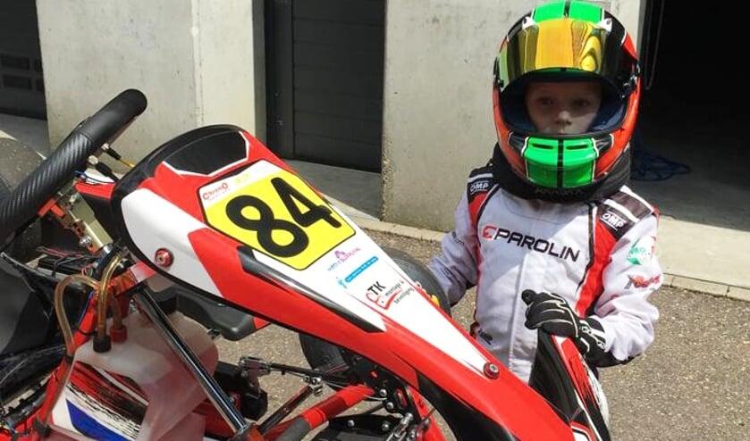 • Luca van Leer eindigde als negende in Venray.
